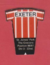 Exeter City (T97-98)